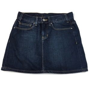 Gap Jeans Denim Jean skirt size 2